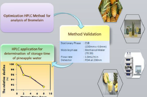 Validation of High-Performance Liquid Chromatography for Determination of Bromelain in Pineapple (Ananas comosus (L) Merr) Water